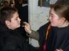 Séance maquillage avec Laurence